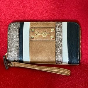 Jessica Simpson Zip Around Wallet